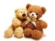 2 Teddy bears 6 inch each