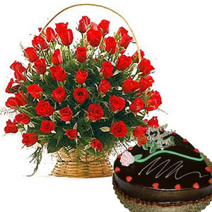 Online Flower Cake Order In Hyderabad